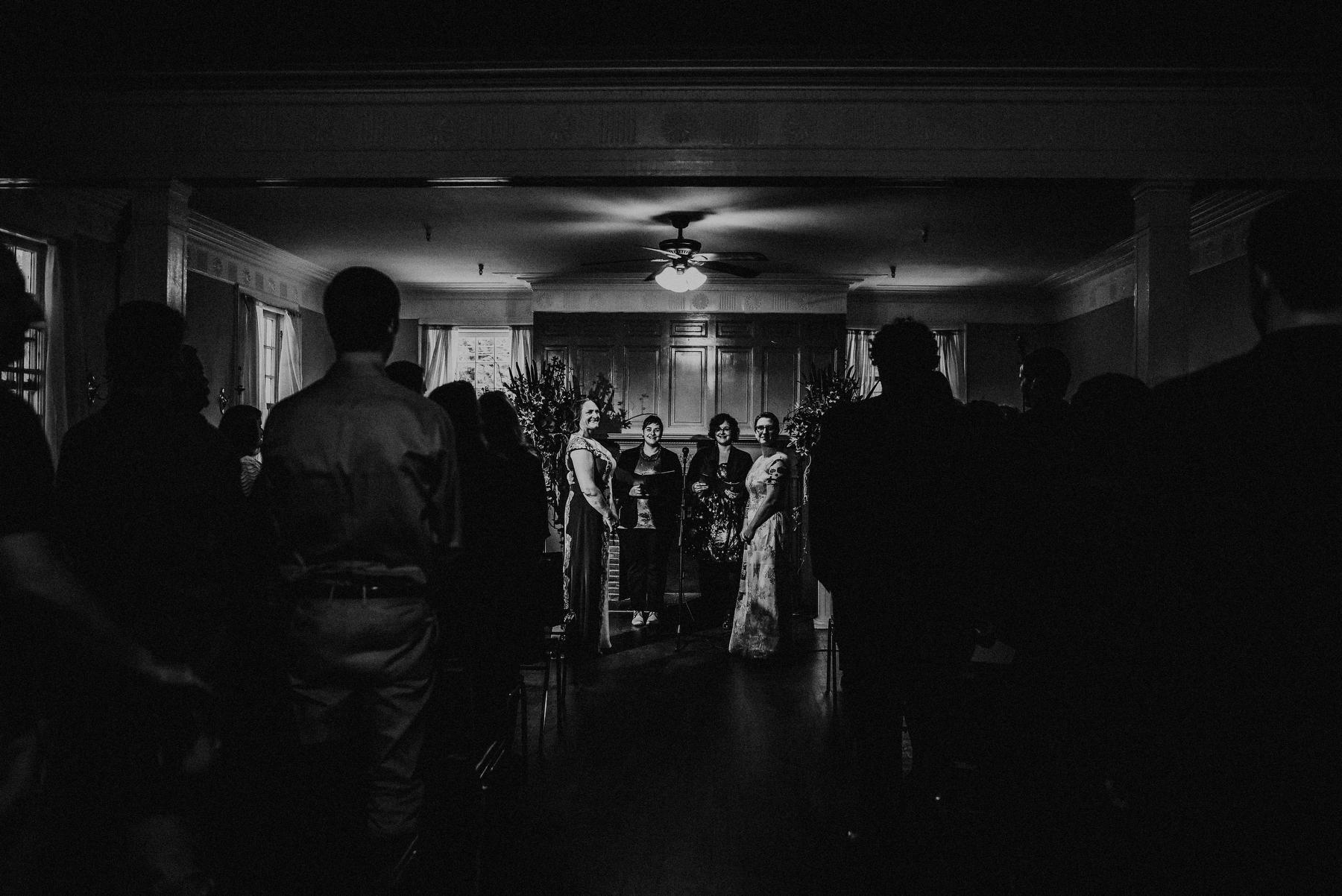 lesbian wedding in maplewood nj