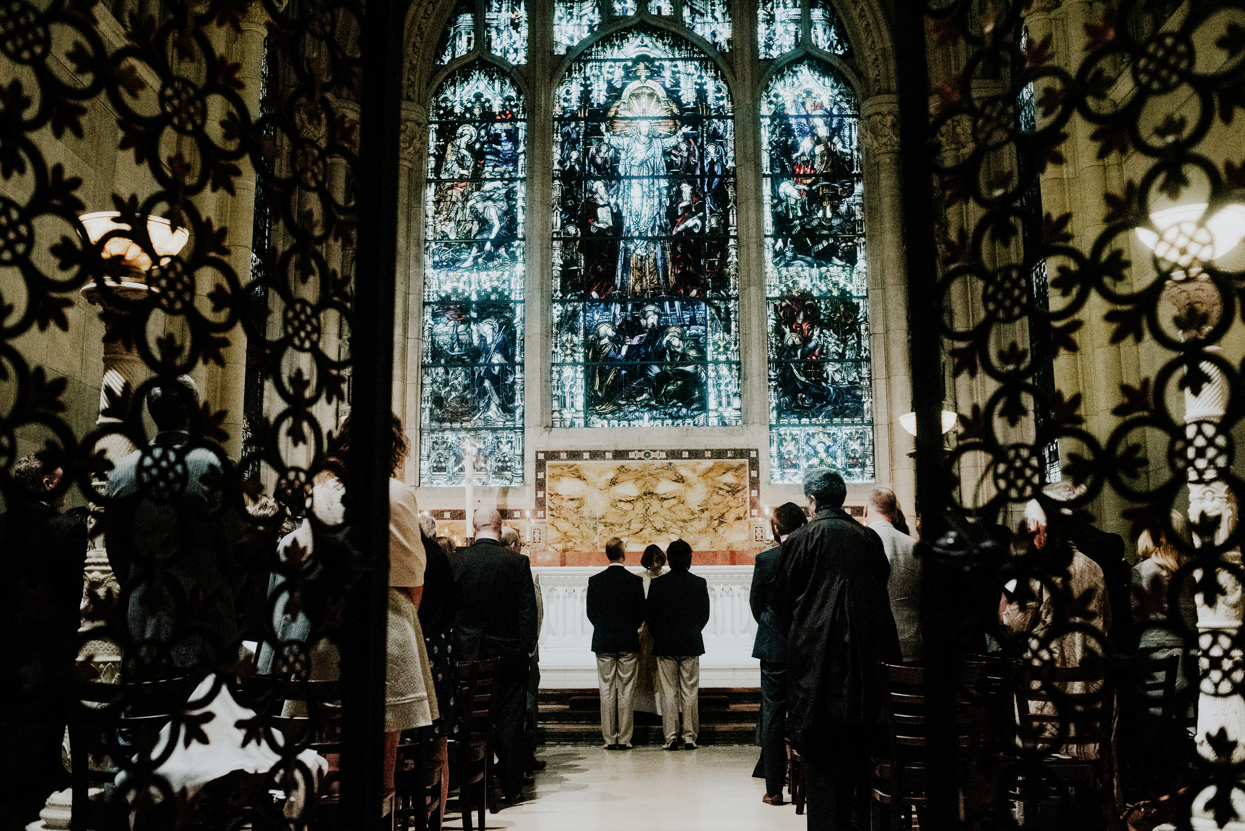 Saint John the Divine wedding
