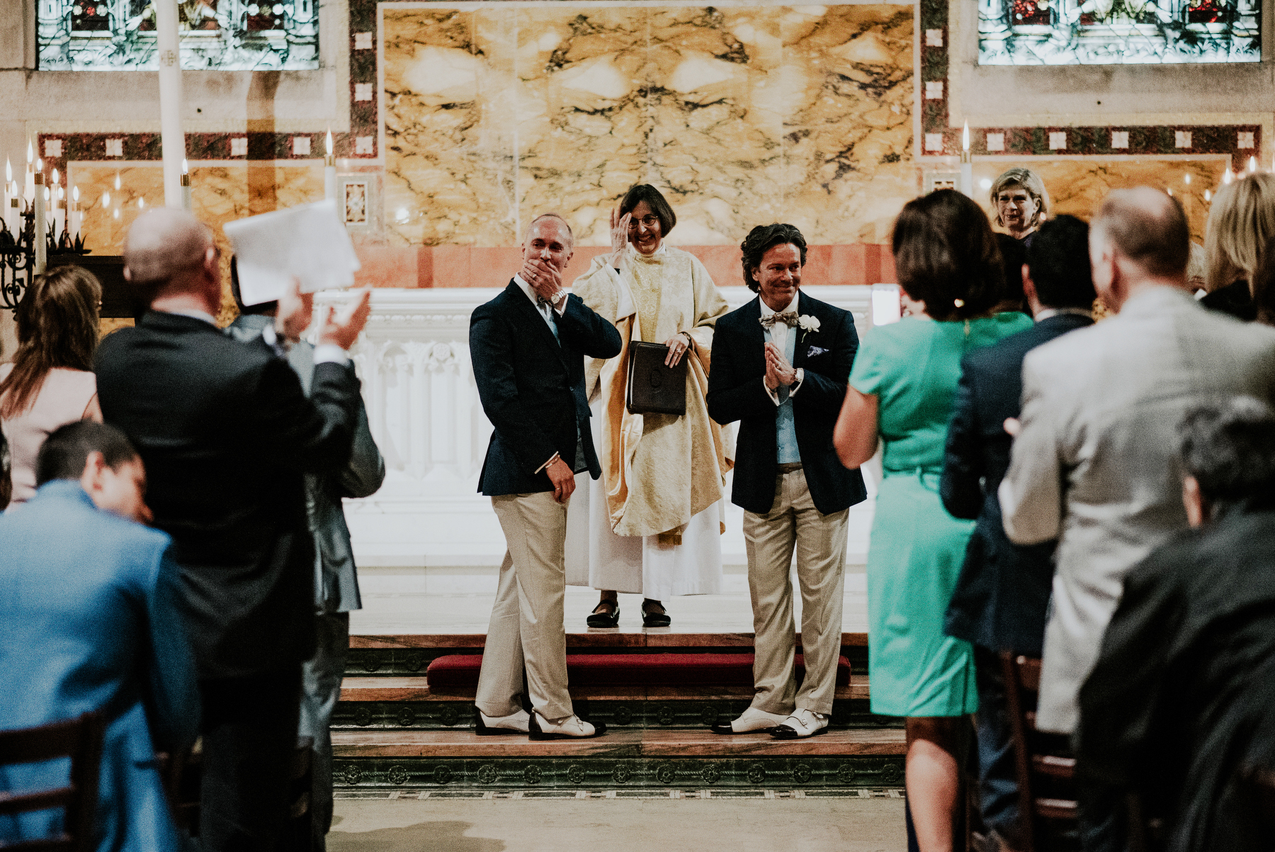 same sex church wedding