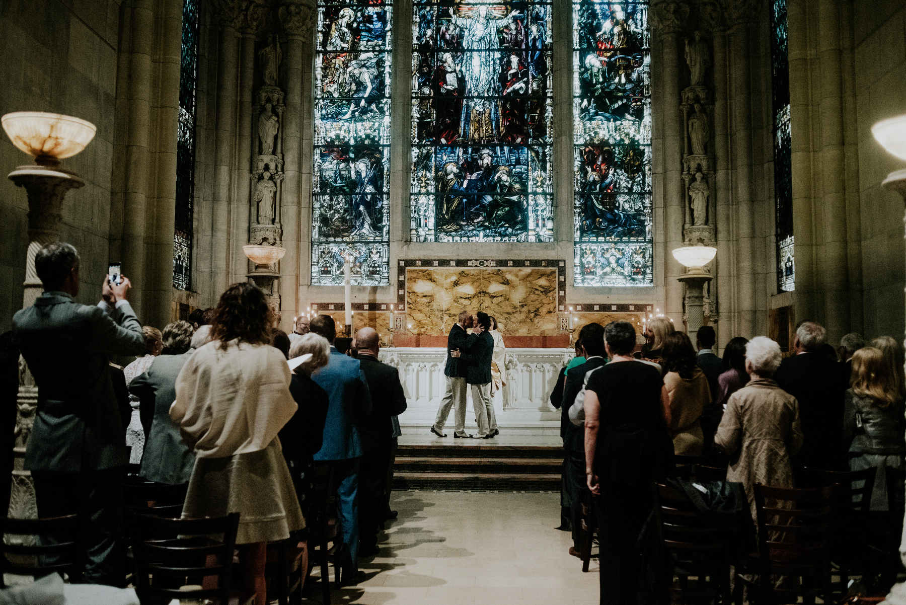 Saint John the Divine Harlem wedding
