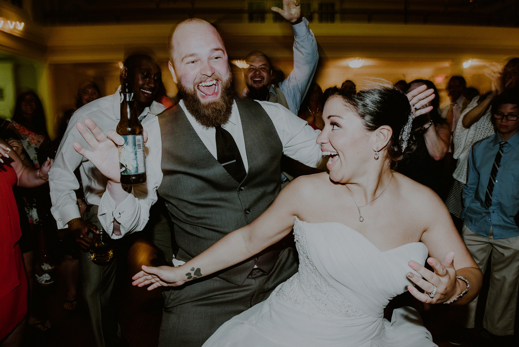 fun wedding reception pictures
