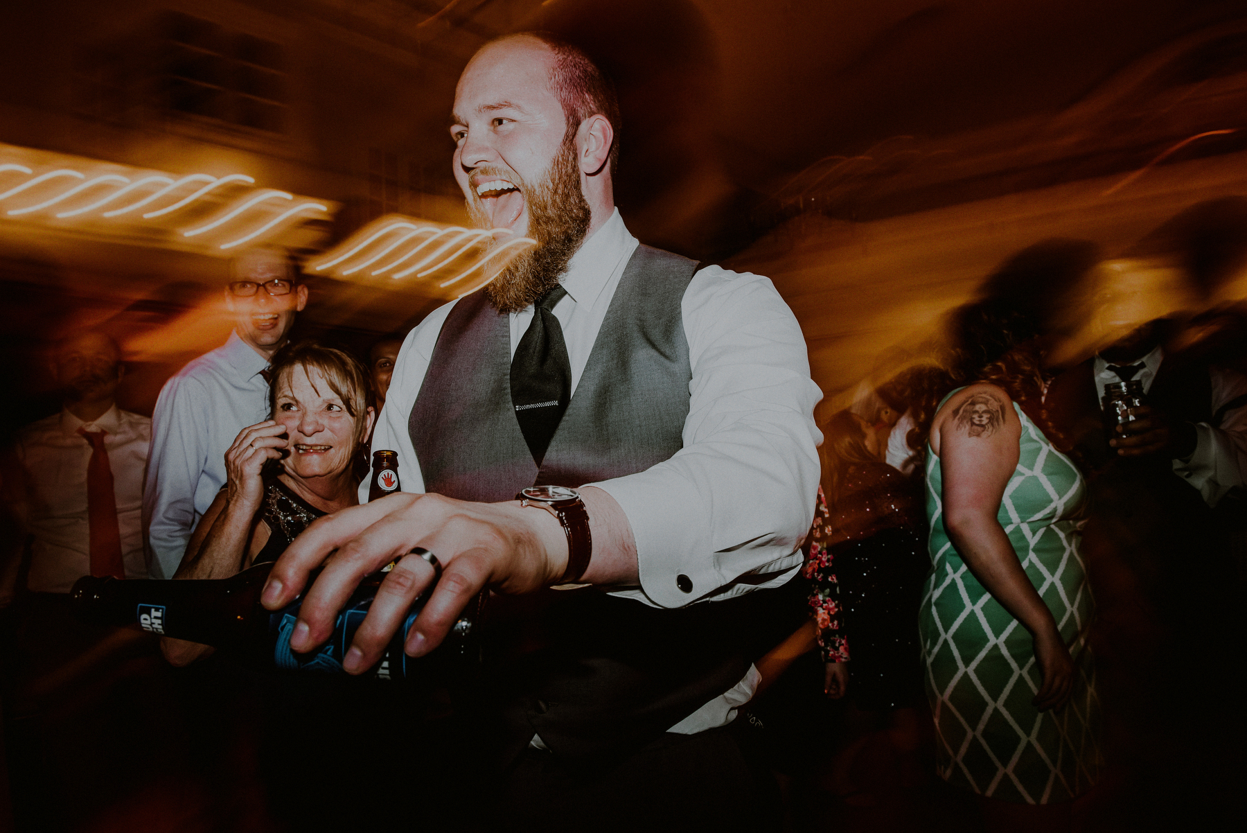 crazy wedding reception pictures