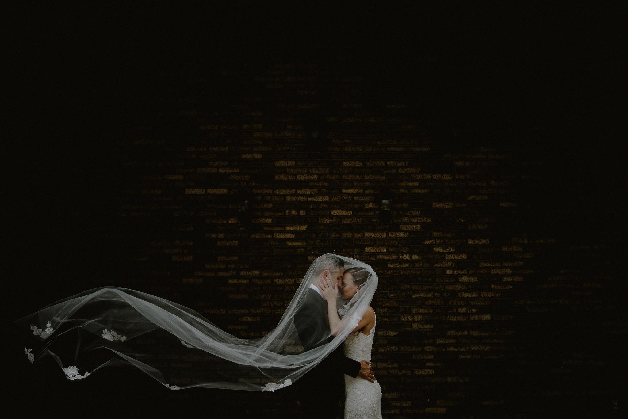 midtown loft and terrace wedding