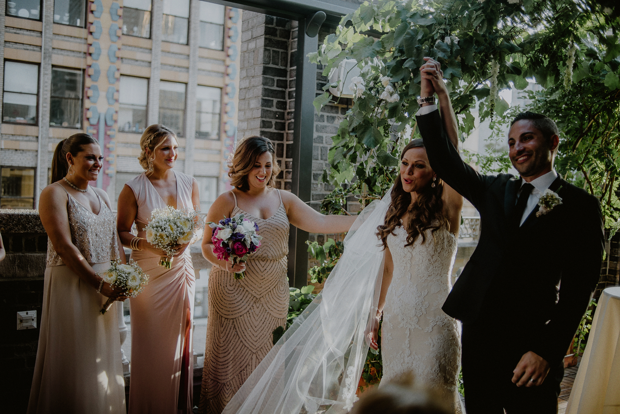 nyc loft wedding