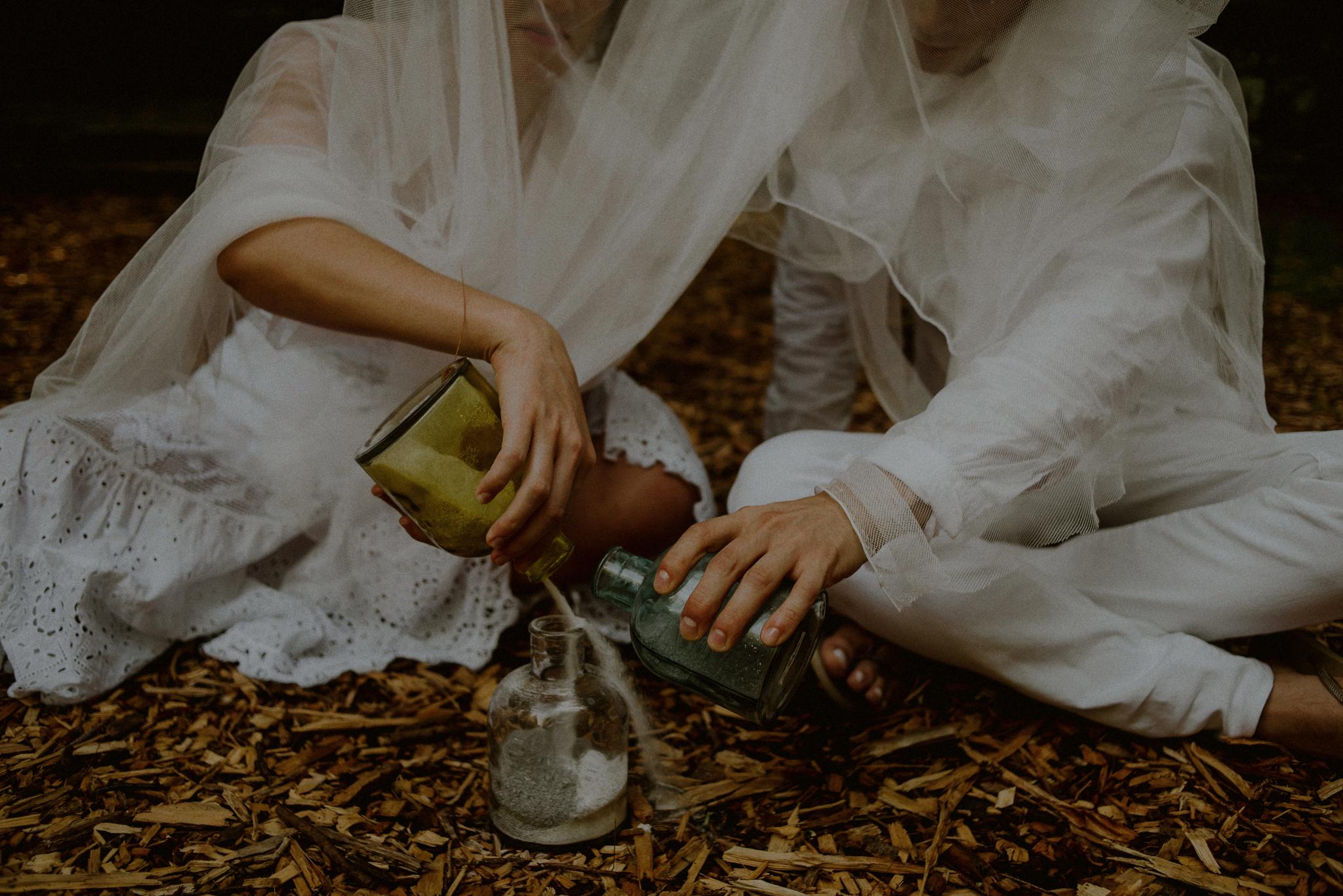 untraditional wedding ceremony