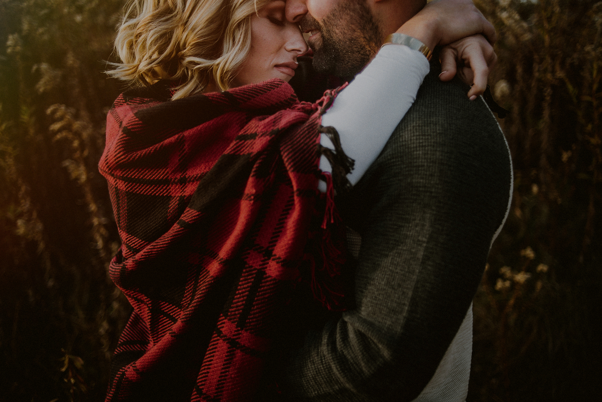 dramatic engagement photos
