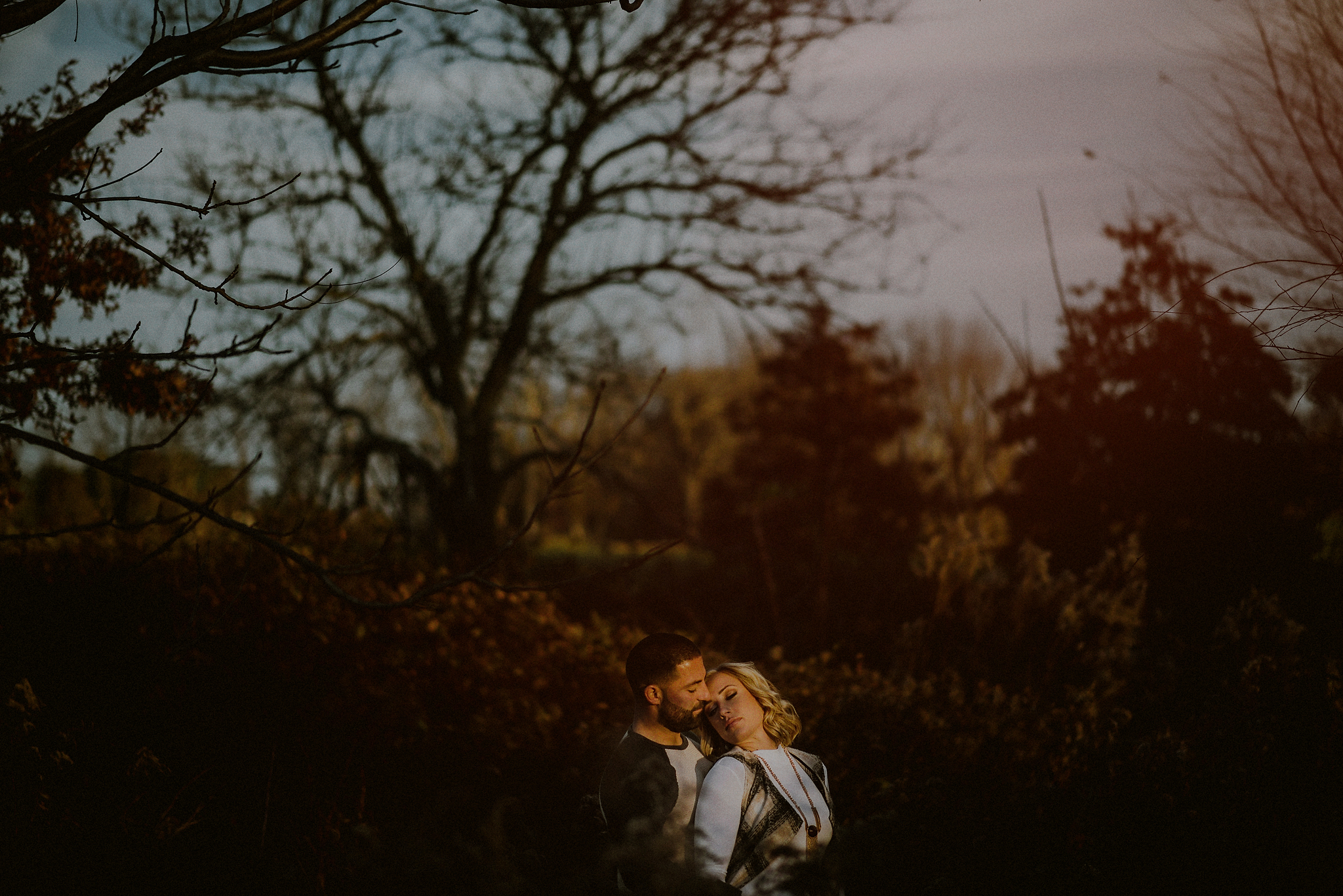 passionate engagement pictures