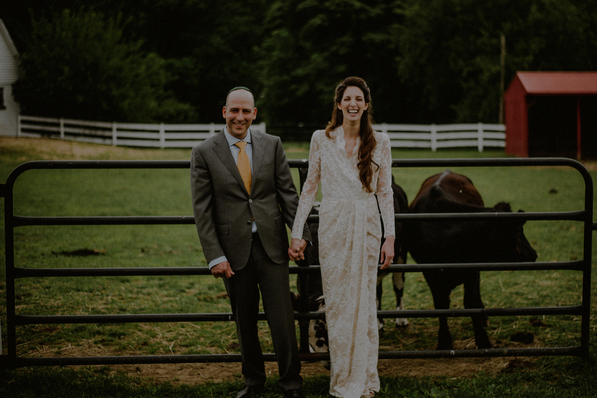 nj farm wedding photos