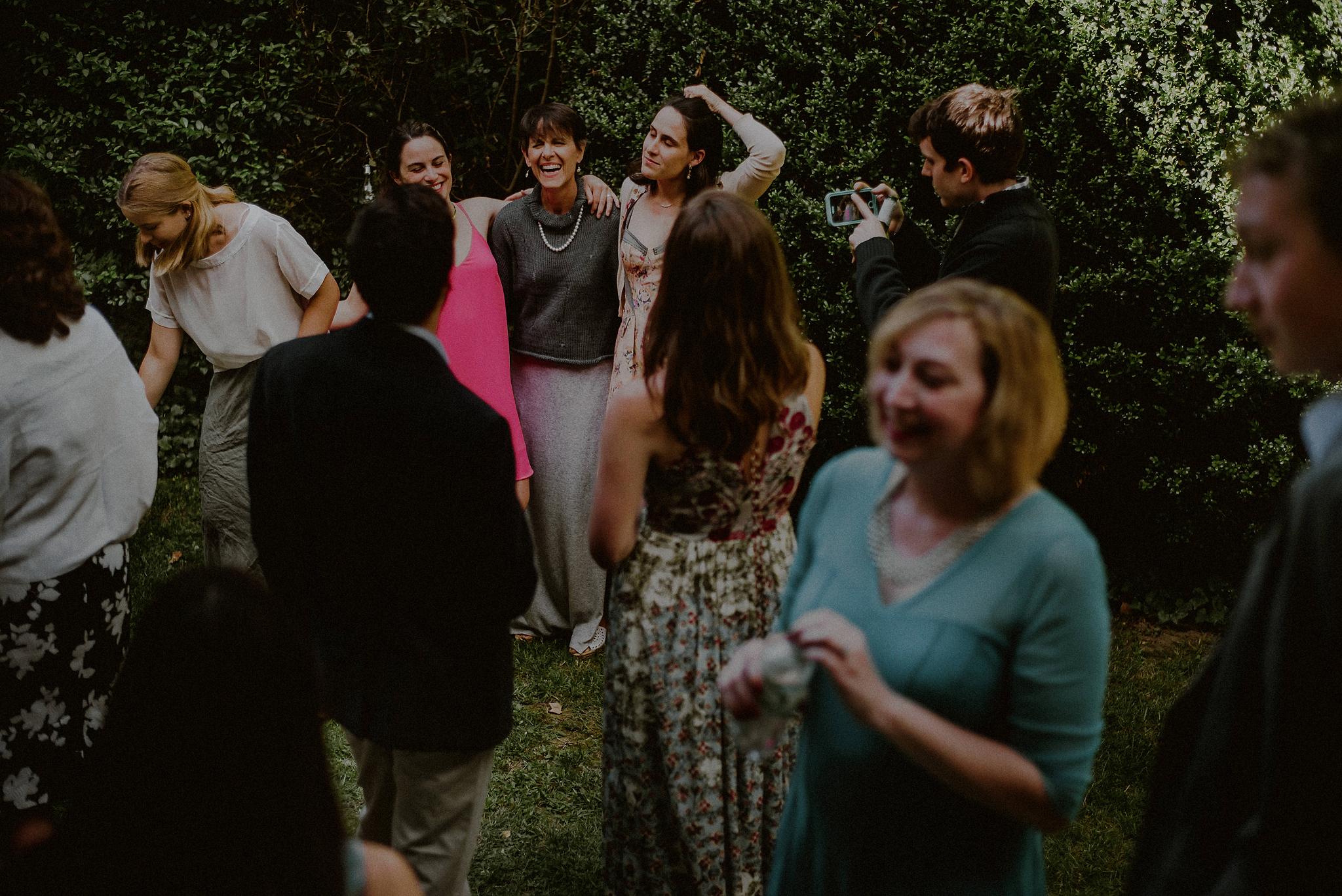 backyard BBQ wedding