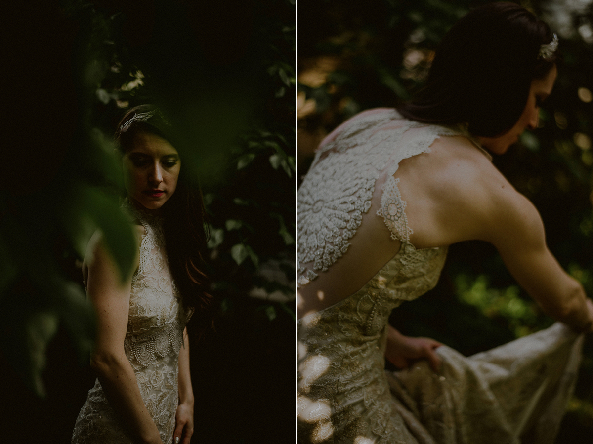 intimate wedding photos