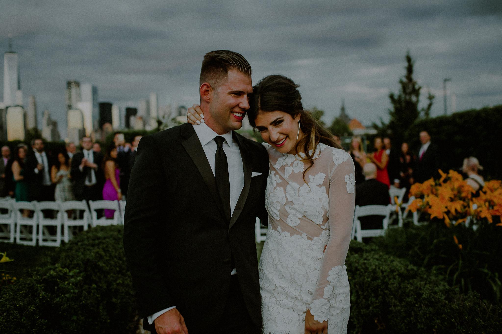 nyc skyline wedding
