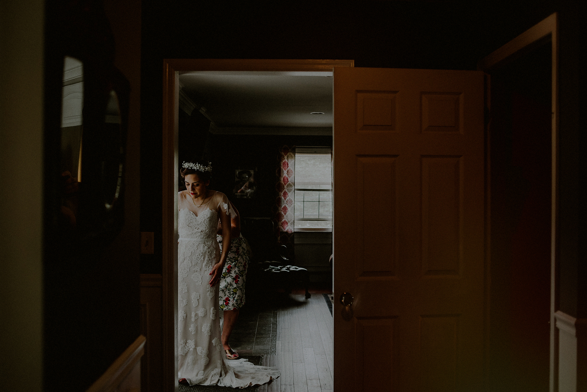 backyard wedding in New York State