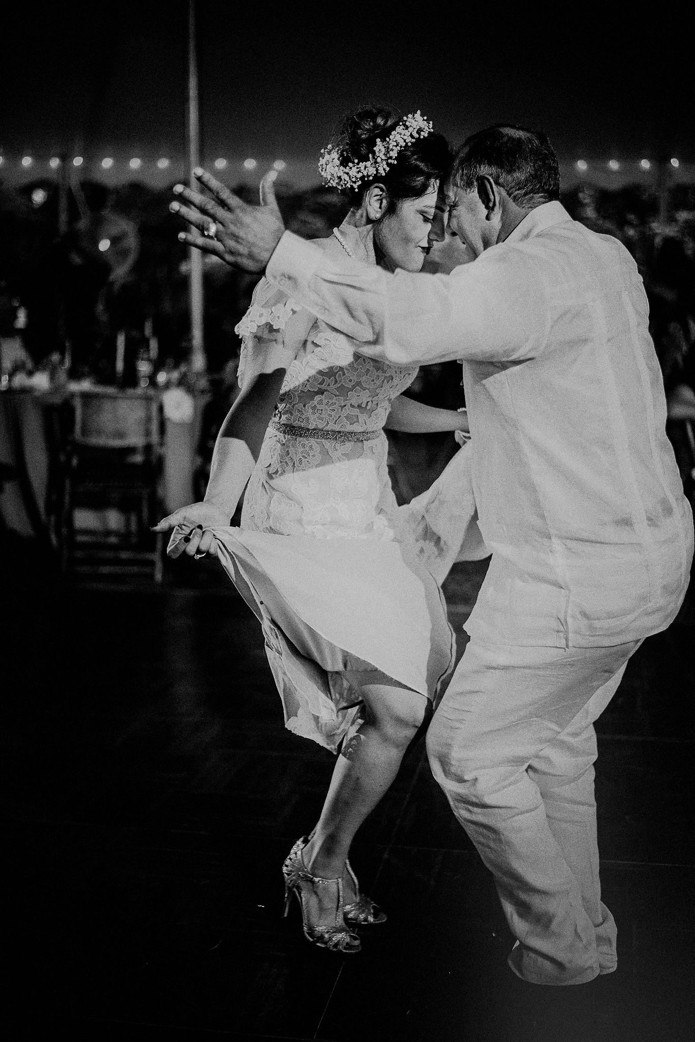 father daughter salsa dance
