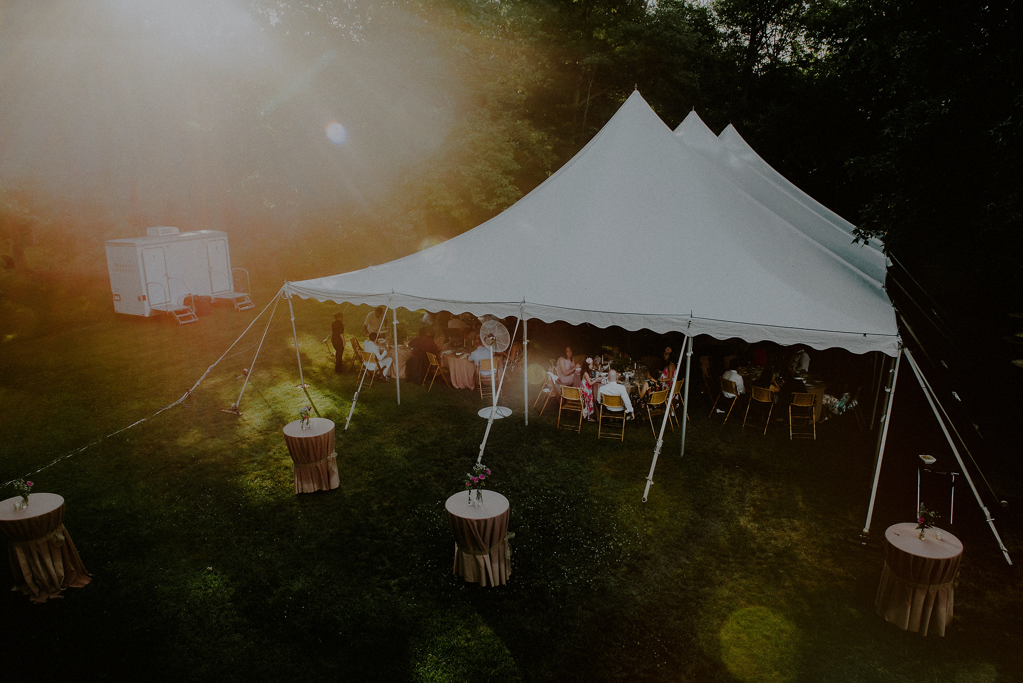 a rustic diy backyard wedding in new york state rosie brian