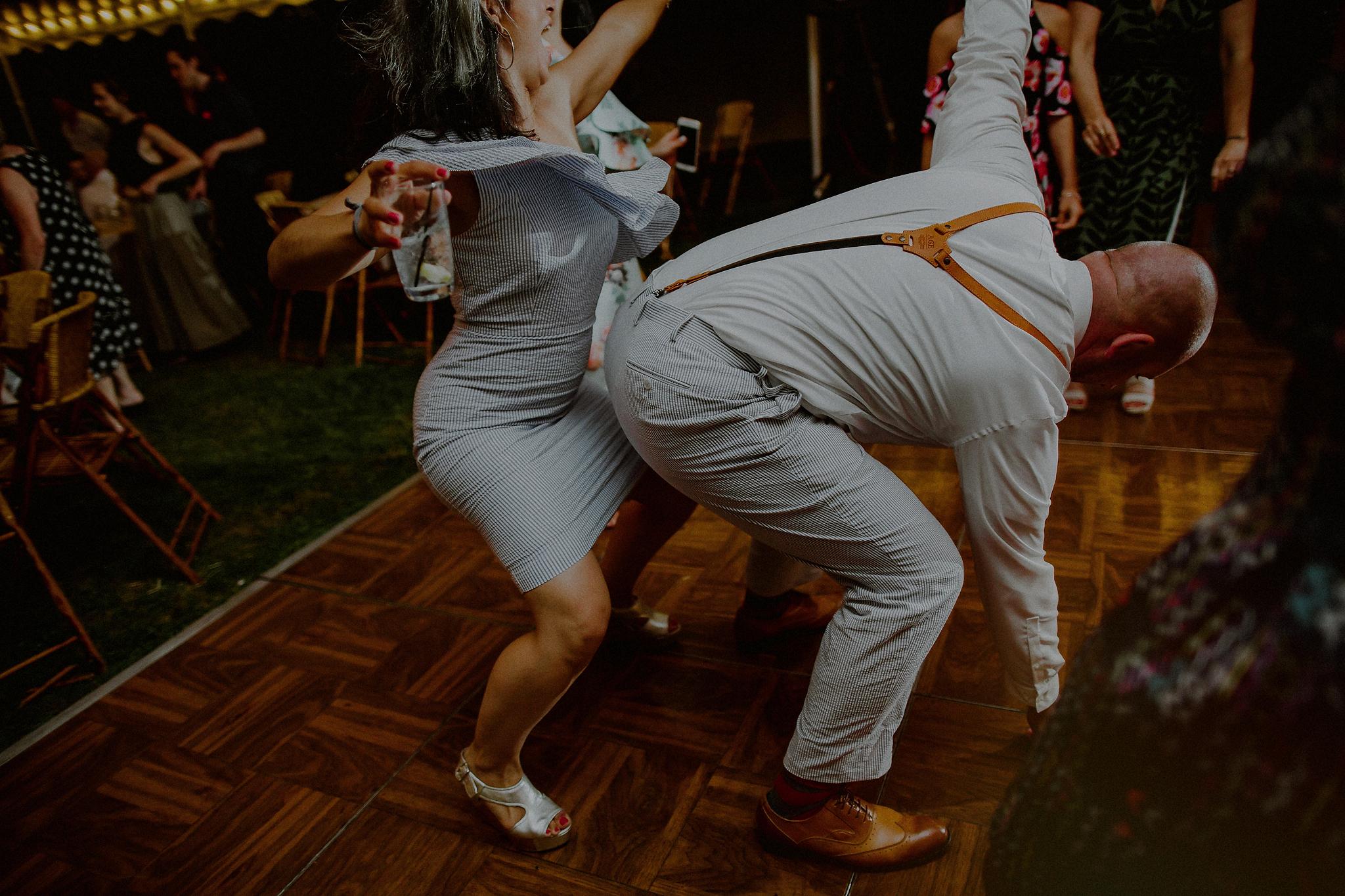 crazy dance wedding photos