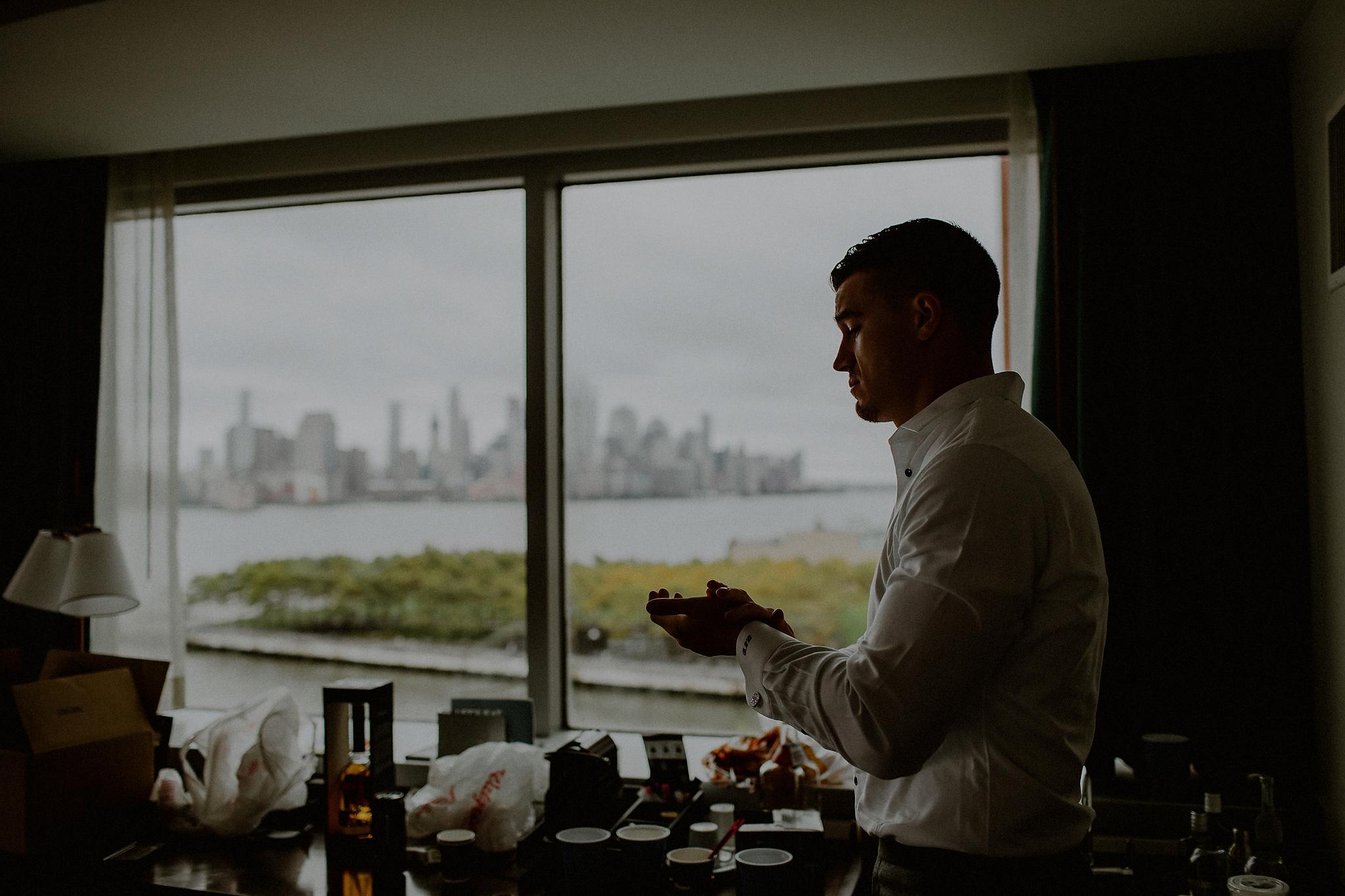 new york waterfront wedding