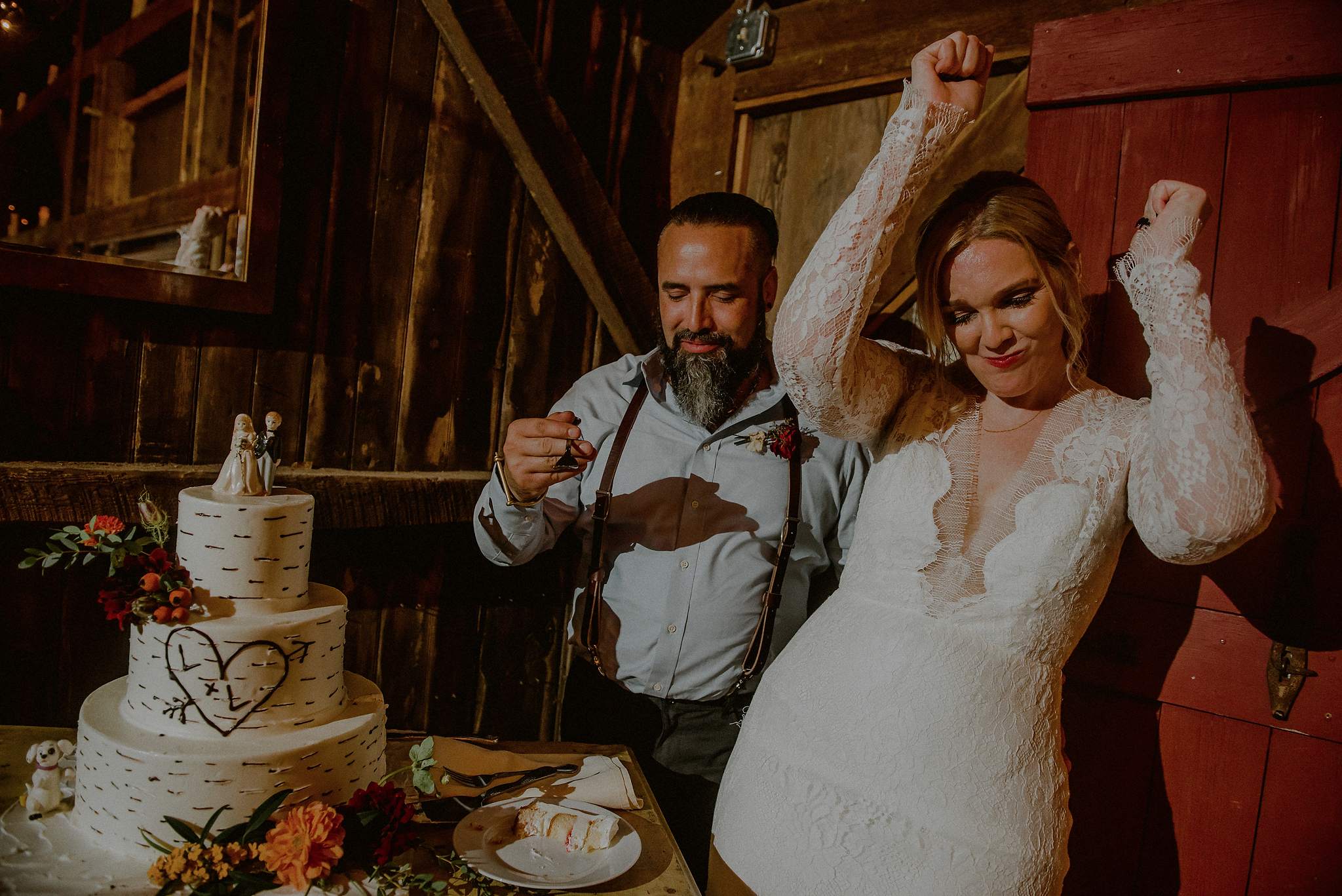 unique wedding reception photos