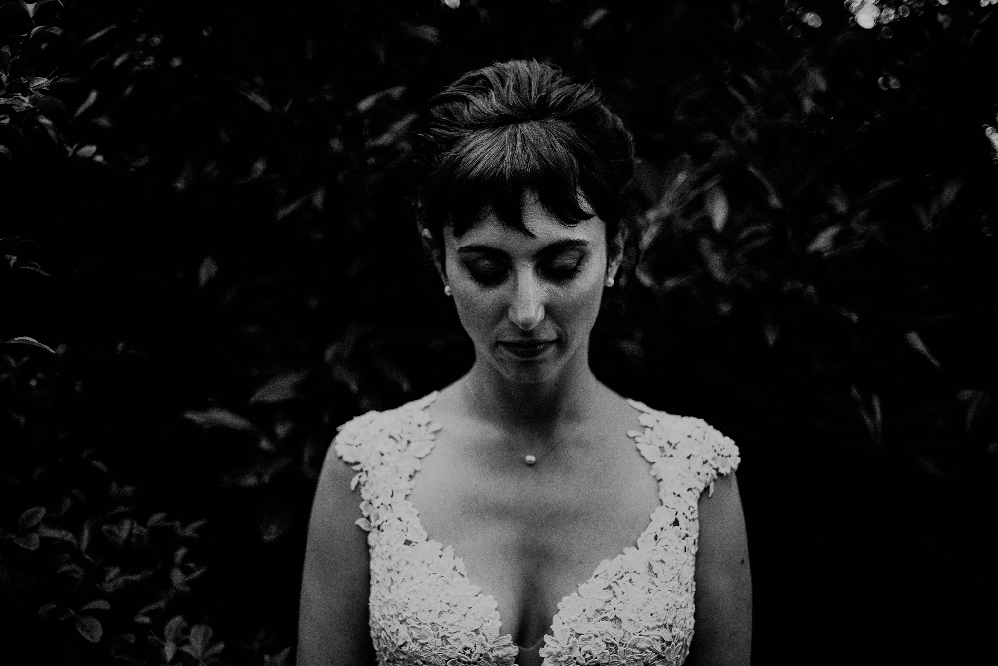 dramatic wedding photography