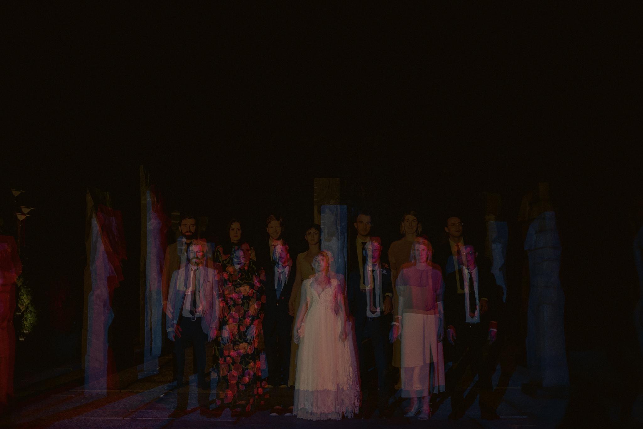 creative bridal party photos