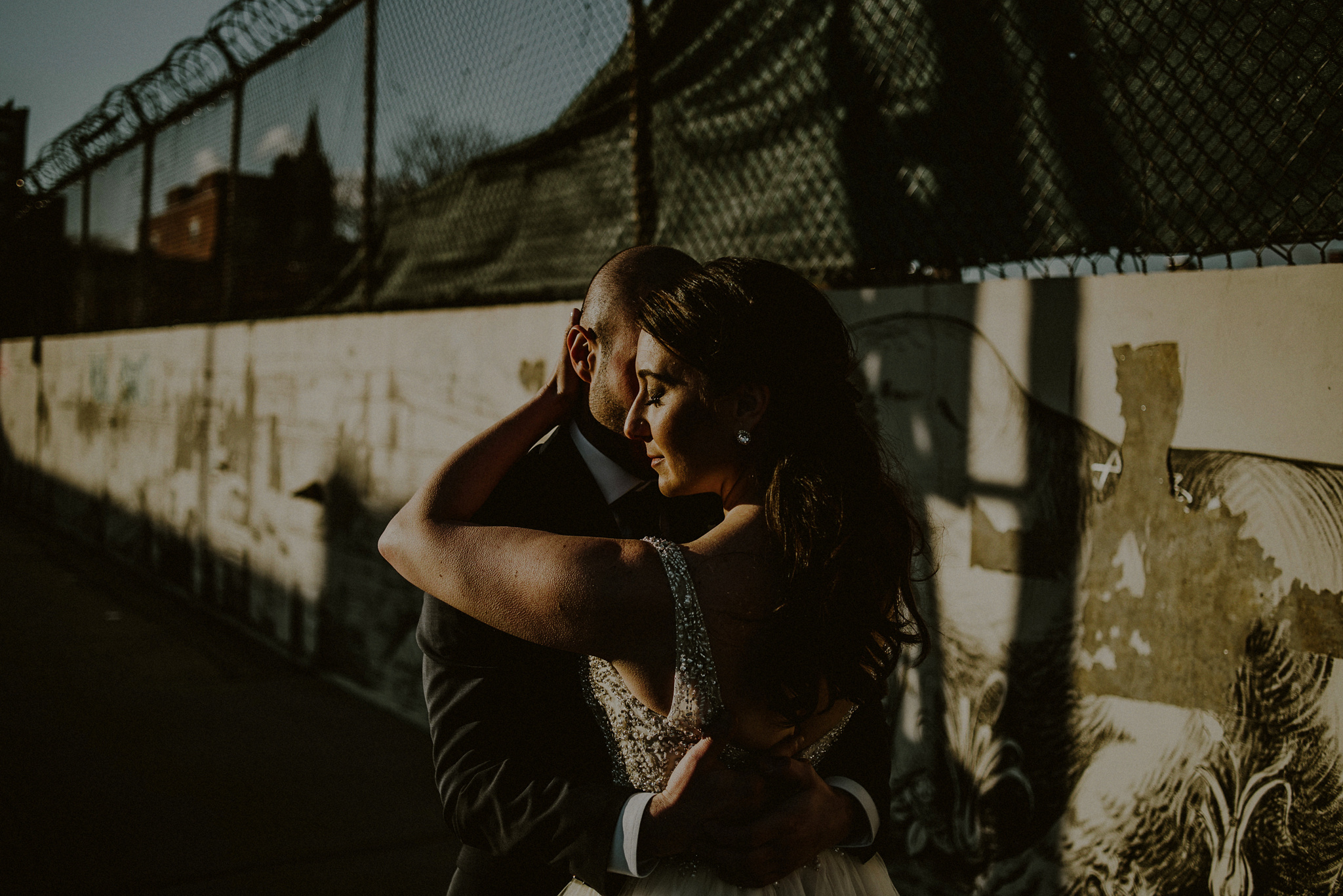 industrial wedding photos