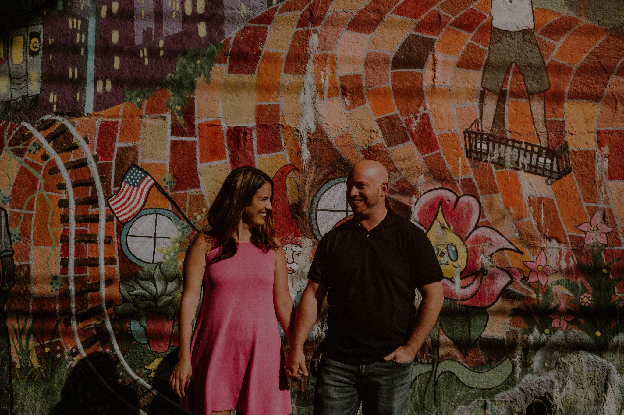 Astoria engagement photos