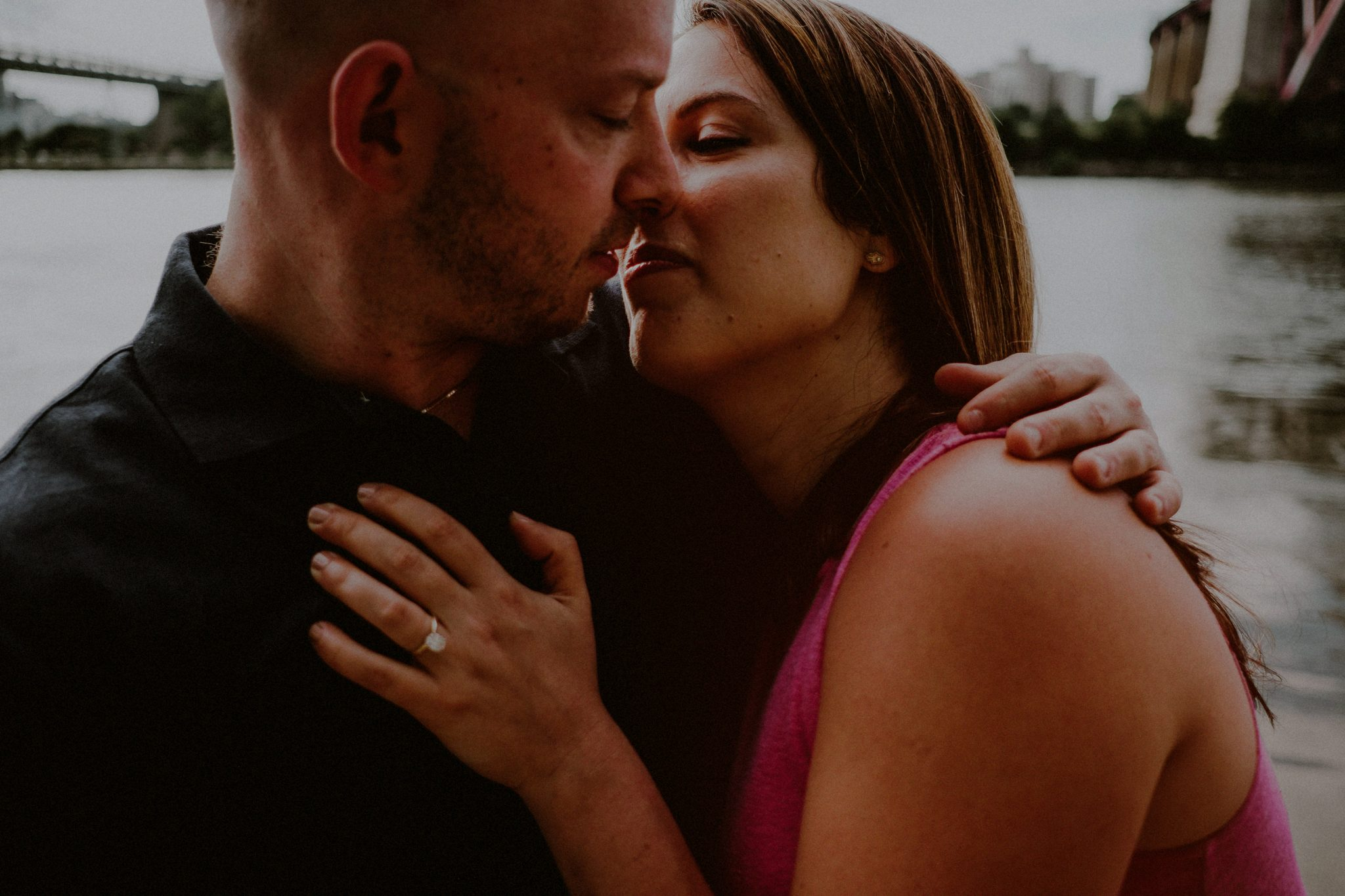 Queens NY engagement photographer