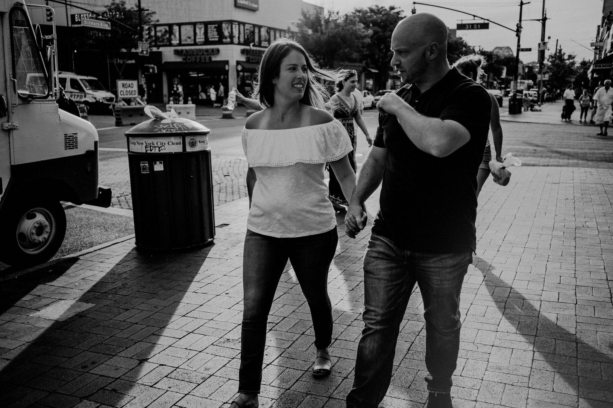 Astoria Park engagement photography