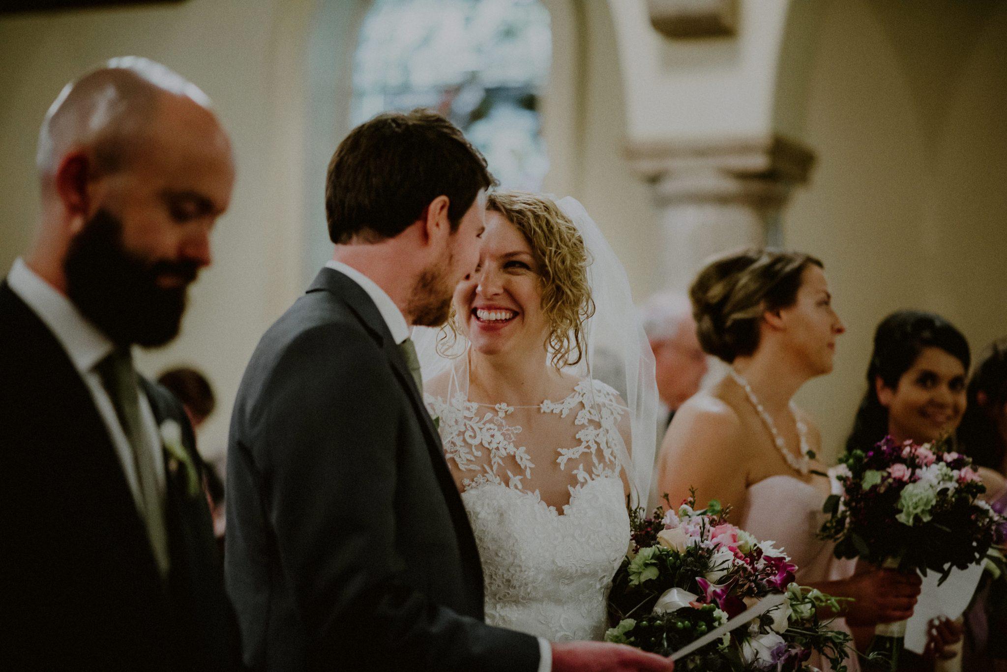 small town wedding photographs
