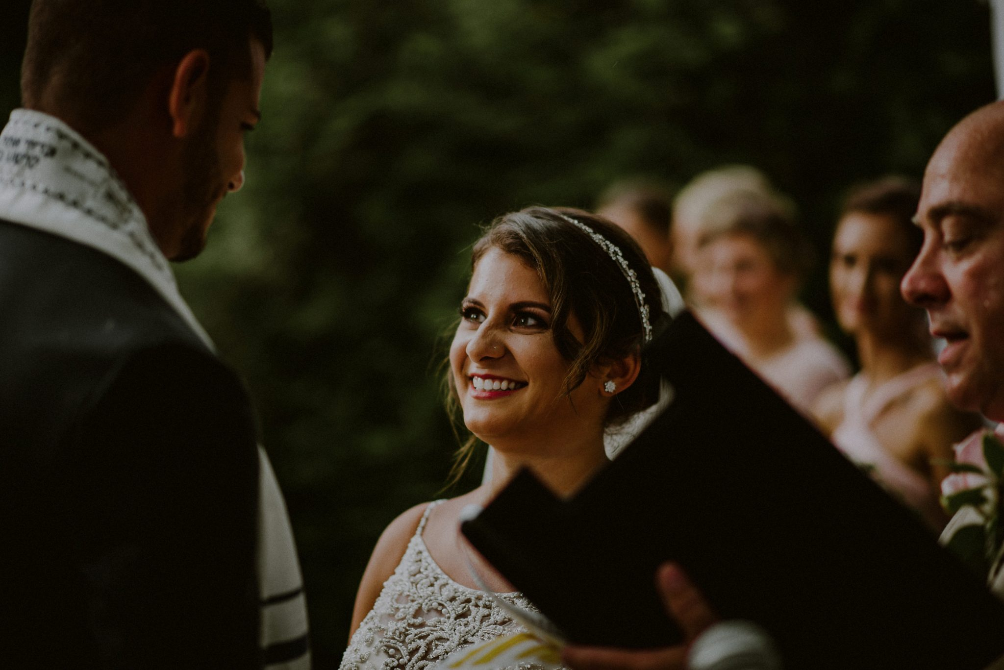 outdoor jewish wedding
