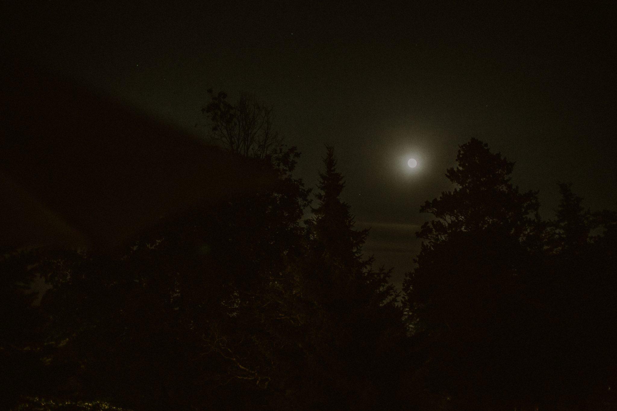full moon in CT