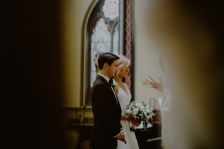 Religious wedding ceremony