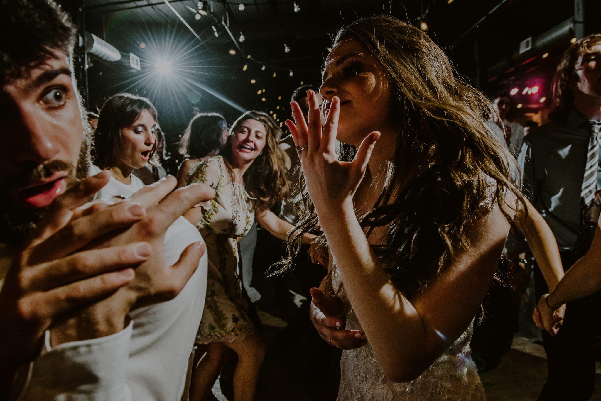 fun wedding reception photos