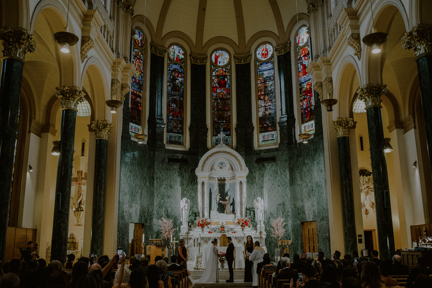 manhattan catholic church wedding
