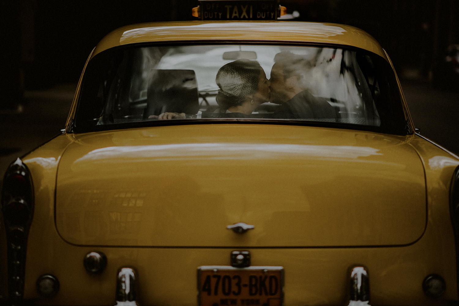 old nyc taxi portraits