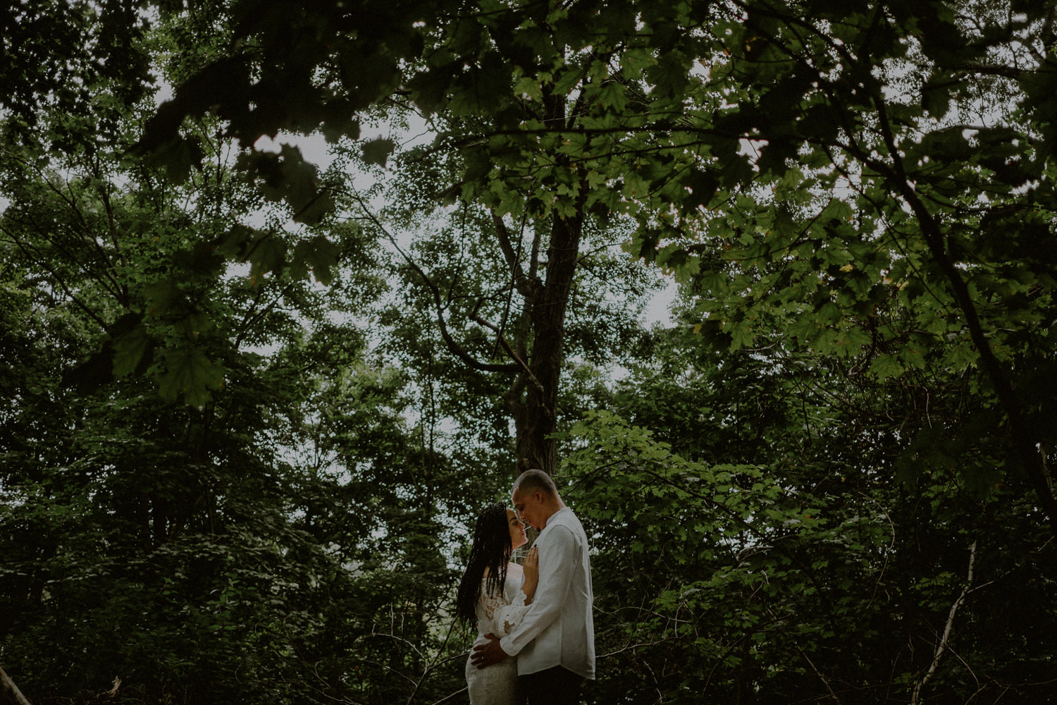 documentary wedding portraits