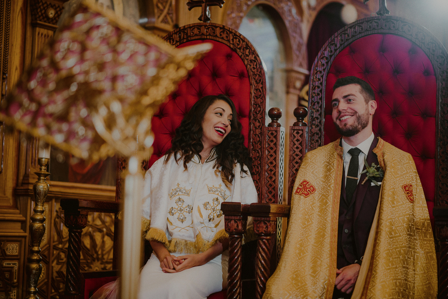 Multicultural wedding photos