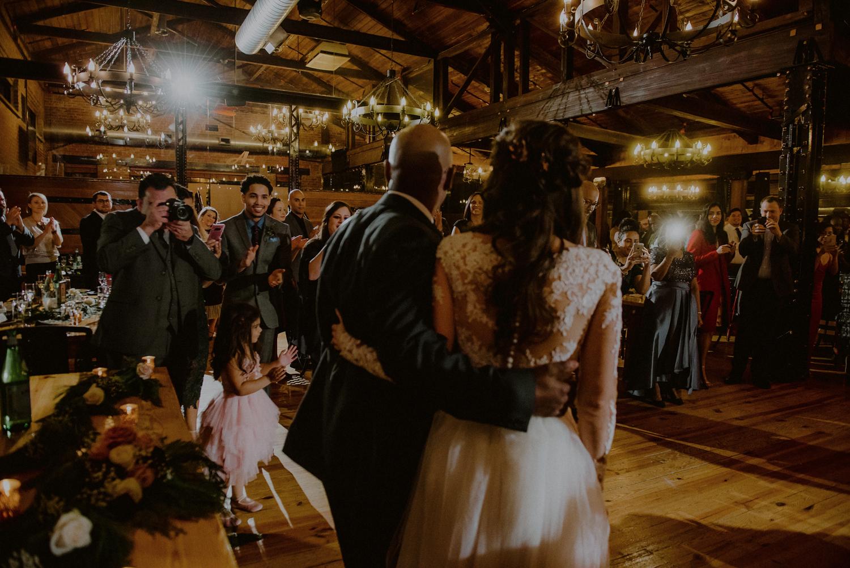 Avenue A Club Wedding
