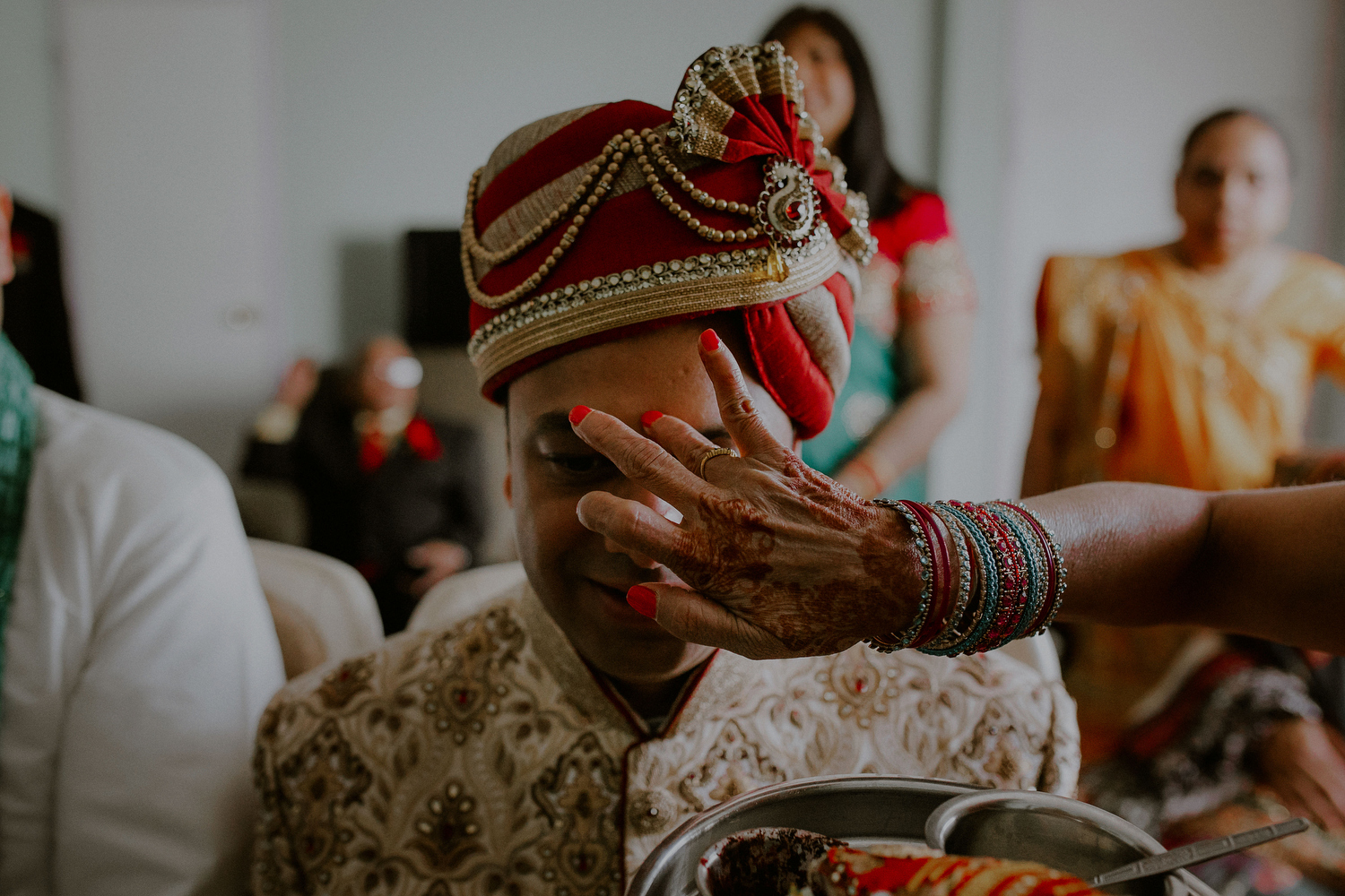 indian wedding ceremony rituals at home