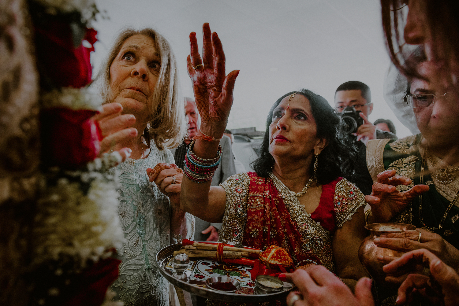 indian wedding rituals at the end of baraat