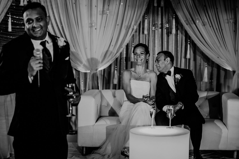 funny best man speech during wedding reception