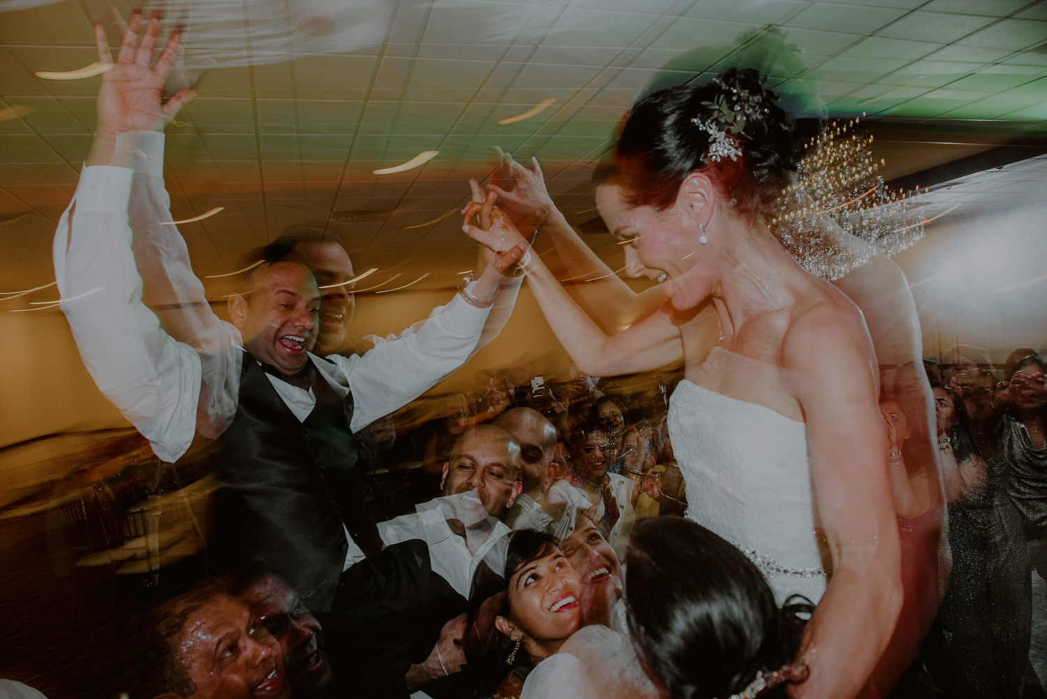 creative wedding reception photos