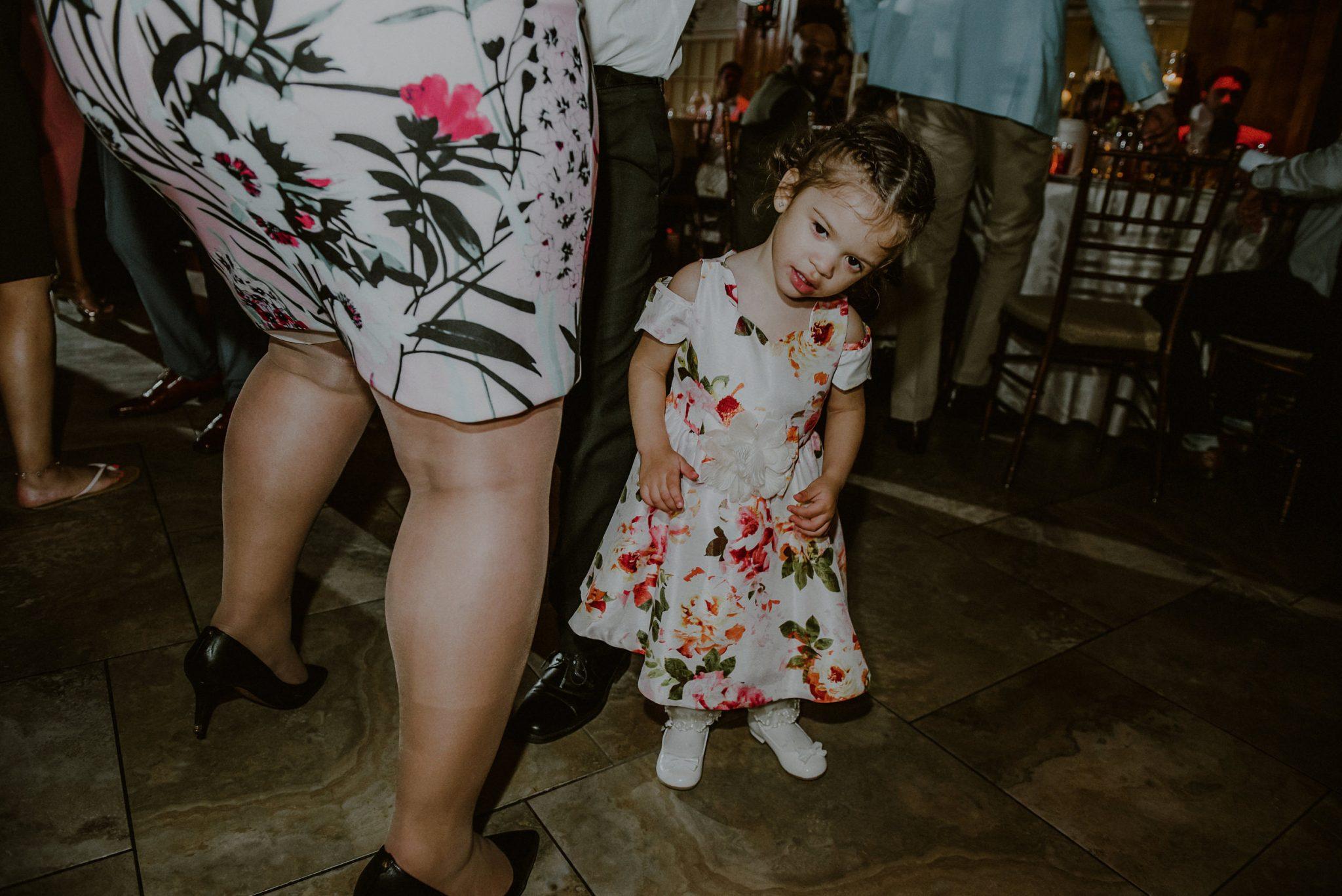 candid wedding moments on the dance floor in woodbury ny