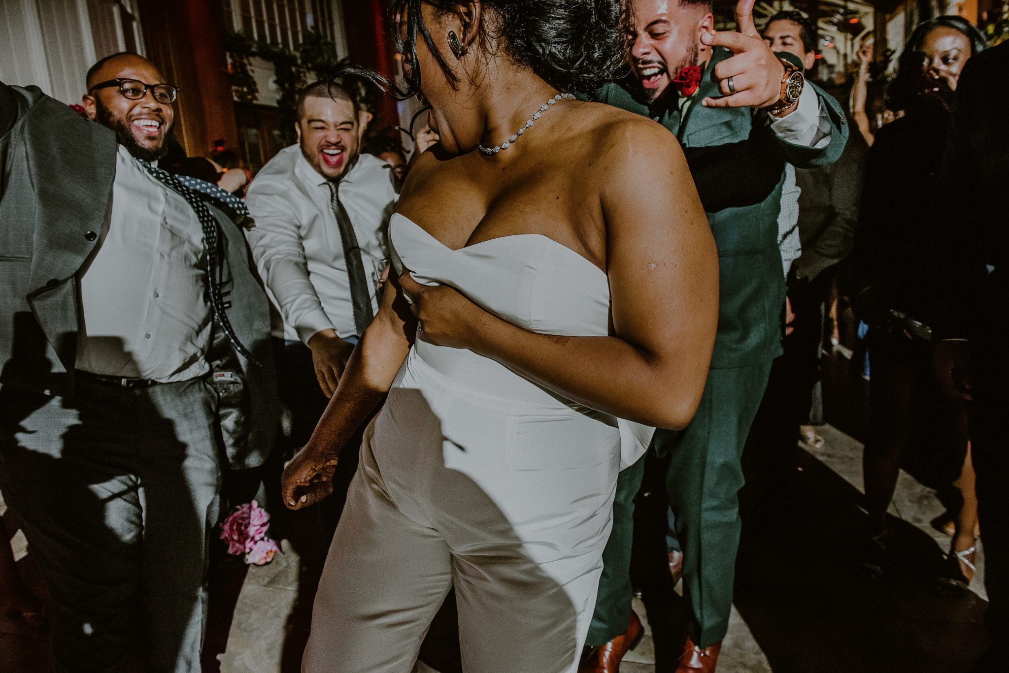 crazy wedding reception dance moments at fox hollow in ny