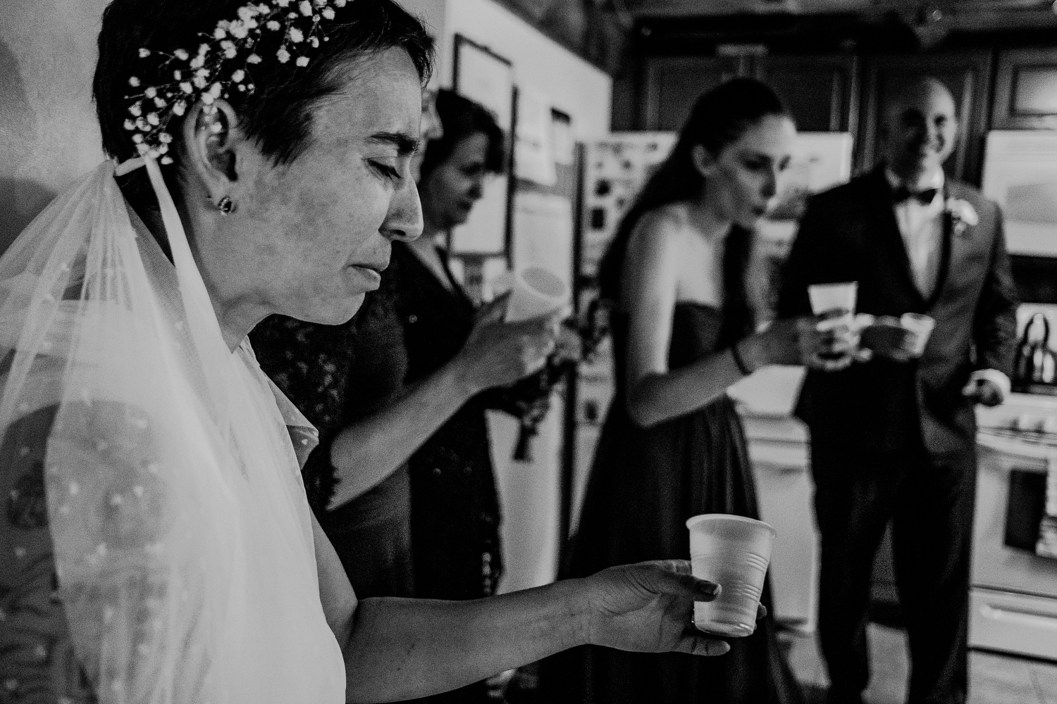 candid wedding photography moment before ceremony