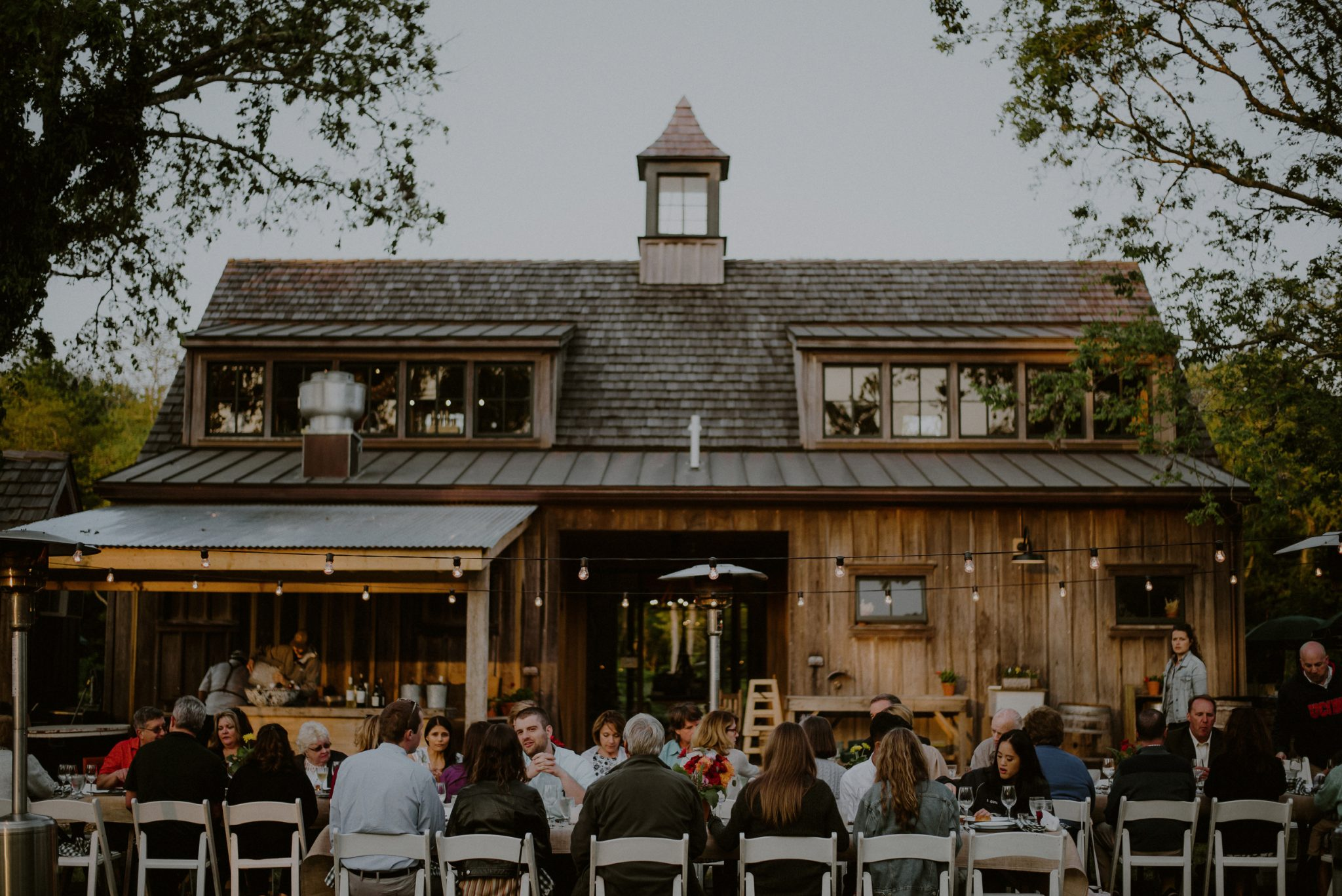 farm to table wedding at beach plum farm in west cape may